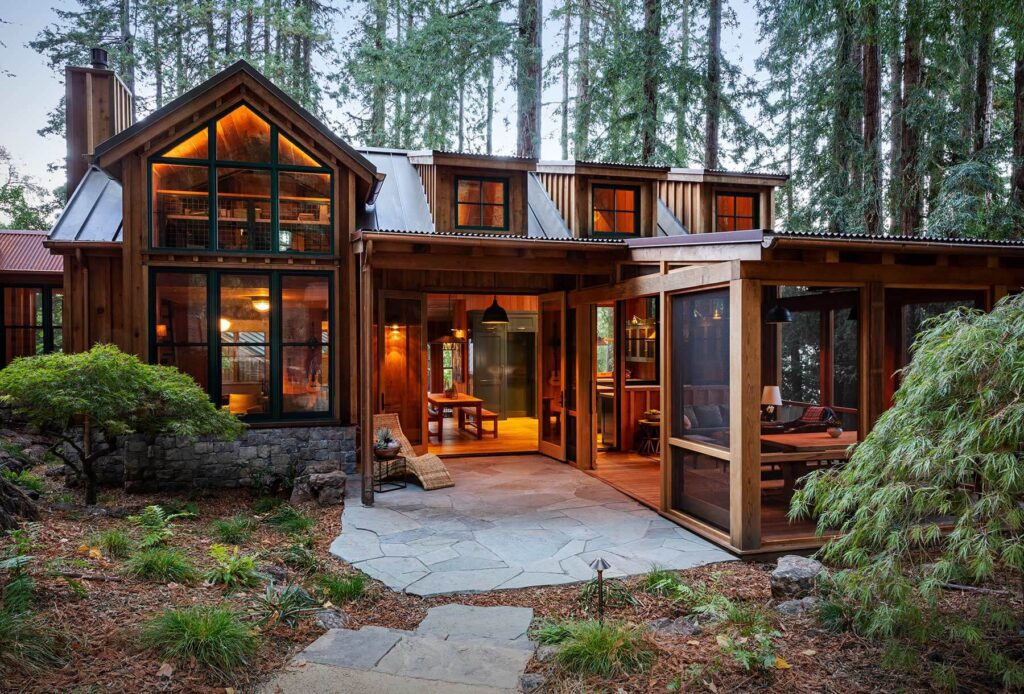 Secluded Modern Cabin